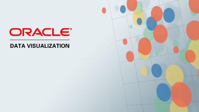 Oracle Data Viz