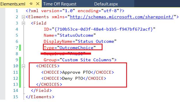 SiteColumn-Outcomechoice