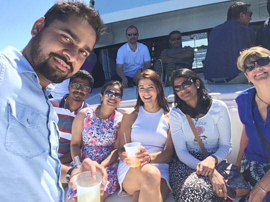 Perficient Minneapolis boat cruise