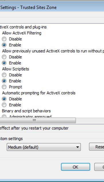 siebel activex controls download