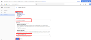 How to Access Google Analytics API from the IBM Integration Bus