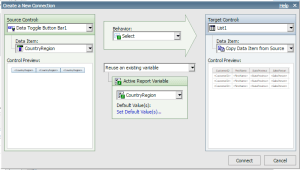 Active Reports Using the Data Toggle Bar in Cognos