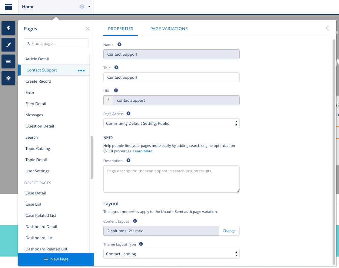 Tailor Your Salesforce Lightning Community With Custom Theme Layouts