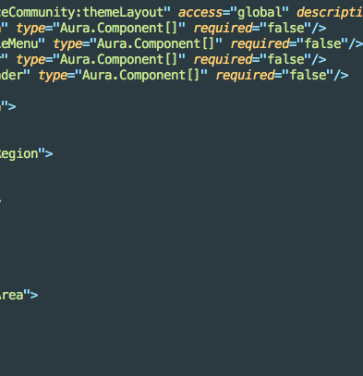 Tailor Your Salesforce Lightning Community with Custom Theme