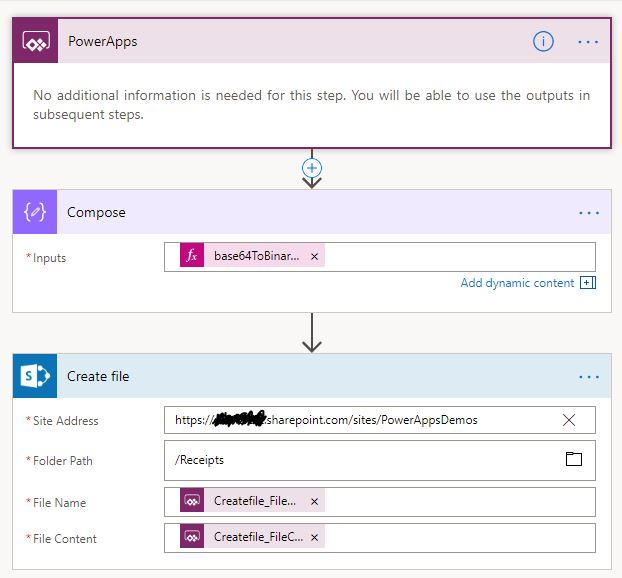 Store PowerApp Camera Photos in SharePoint or OneDrive