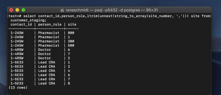 Using PostgreSQL to Massage Data for Siebel EIM - Perficient
