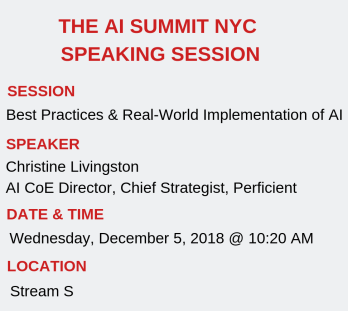 Perficient's AI Summit NYC Speaking Session