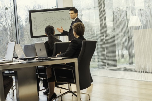 Change Management discussion around whiteboard