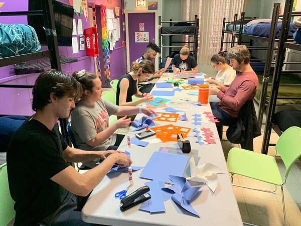 La Casa Norte Perficient Volunteer Group Shot