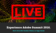 Adobe Summit 1