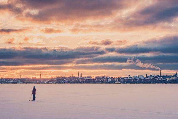 Quiet City Snow