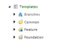 Sitecore Templates Folder