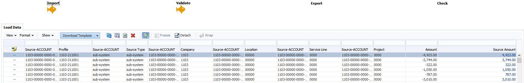 Data Load Workbench