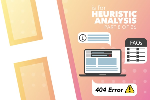H Is For Heuristic