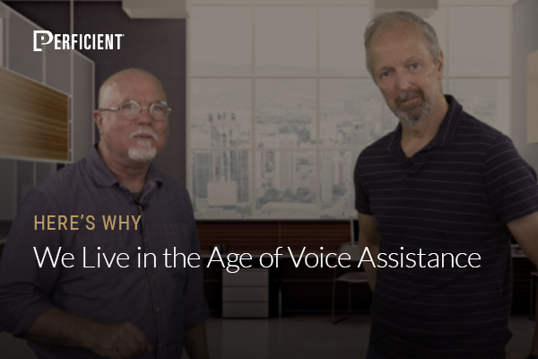Mark Traphagen and Eric Enge on We Live in the Age of Voice Assistance