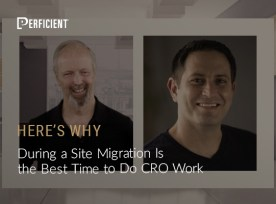 Site migration and CRO work