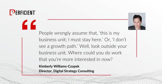 Kimberly Williams Czopek Quote
