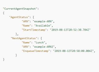 Agent Next Status Overview