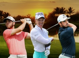 Team Perficient - Matthew Wolff, Morgan Pressel, and Abraham Ancer