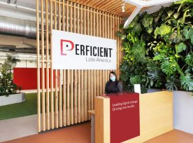 Perficient Latin America Medellin Office Lobby