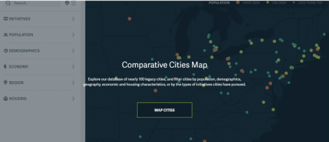 Comparative Cities Map