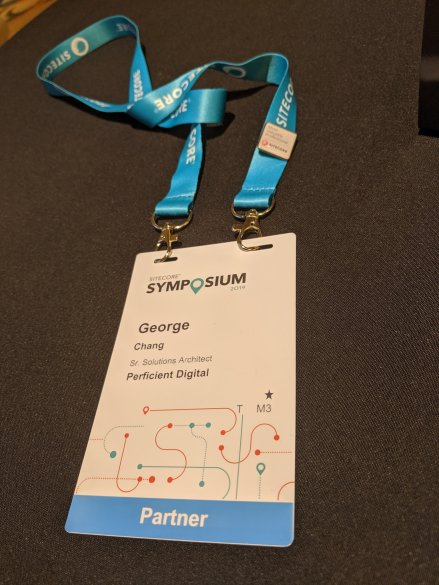 George Sitecore Badge