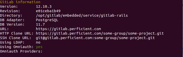 Gitlab Final Terminal