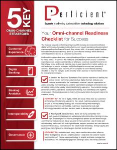 Omni-channel Banking Checklist