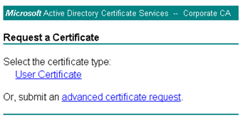 Customizing windows 2003 and windows 2008 certificate services web if you have other templates that you wish to deploy you could ask your users to ignore the user certificate template as shown in the screenshot and submit yadclub Image collections