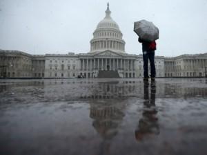 Late Winter Snowstorm Hits Washington DC