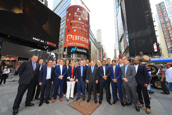 Nasdaq Times Square Perficient Leadership