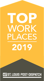 St. Louis Post-Dispatch 2019 Top Workplaces logo
