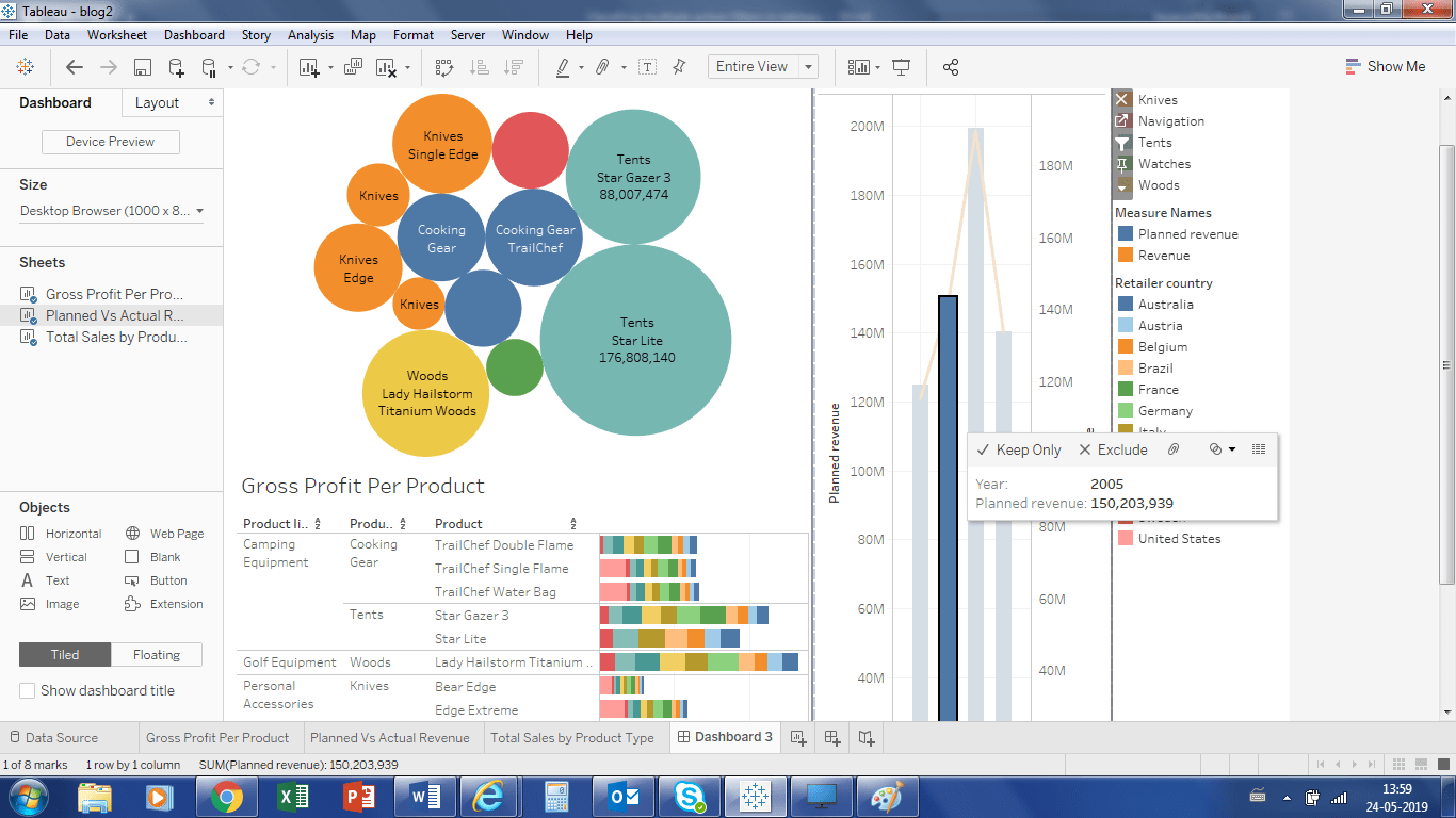 Handling Multiple Action Filters In Tableau Perficient Blogs
