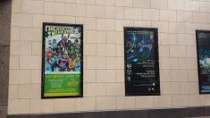 My poster in great company (the heroes are going interplanetary!) (credit Jami Marlowe)