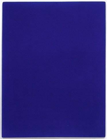 Monochrome bleu sans titre [Untitled blue monochrome], 1960
