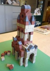 big tower built