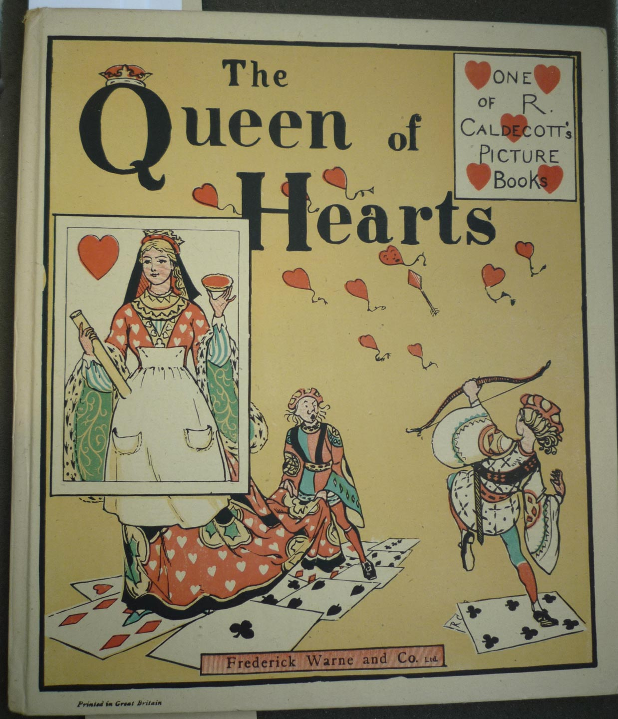 House Of Cards Or The Case Of The Queen Of Hearts And Her Tarts