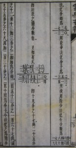 Complex fractions. In The Children's Educator: Mathematics Part II (蒙學報: 算學下), not before 1904. (Cotsen 75995)