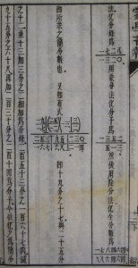 Complex fractions. In The Children's Educator: Mathematics Part II (蒙學報: 算學下), not before 1904. (Cotsen 75995)