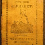 The Pictured Alphabet, Front wrapper (Solomon King, ca. 1820) Cotsen new accession