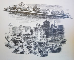 The Land of Green Ginger: Ardizzone ill.