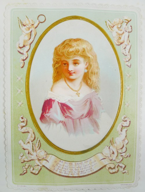 "Card on leaf [26], ""Mr. McLaren 1876"""