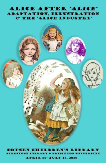 """Alice after """"Alice"""" at Cotsen Library"""