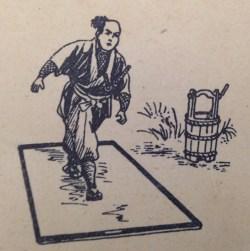 Fig. 12: Walking across a wet sliding door.
