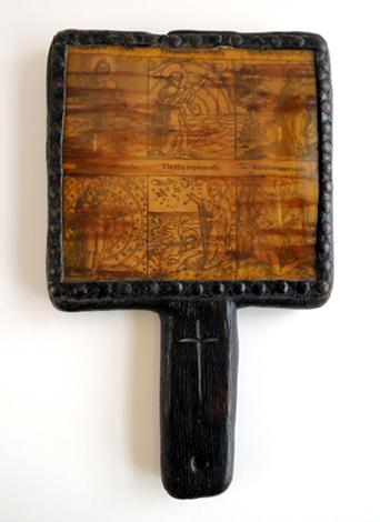 wooden horn book