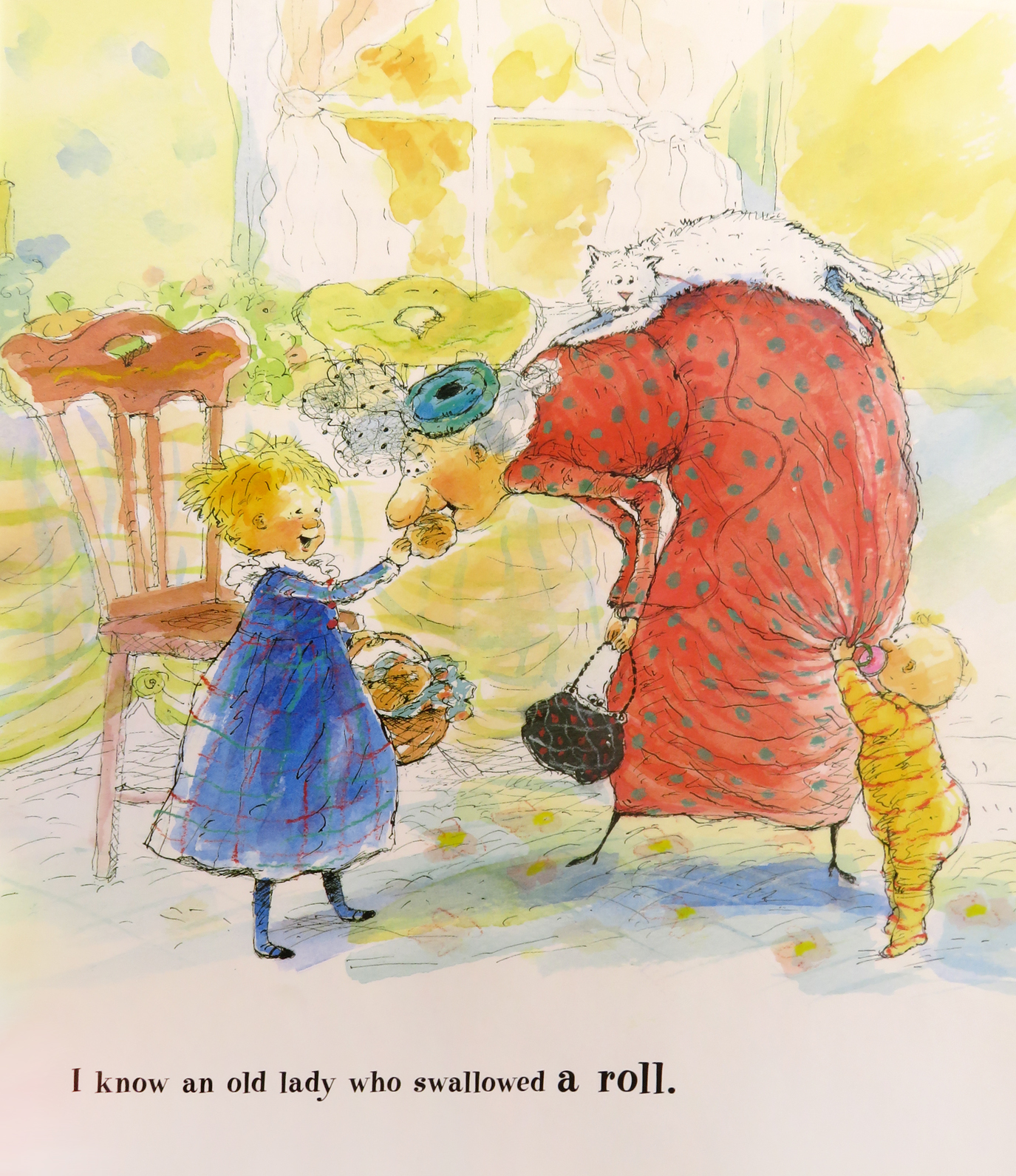 Tweaking The Emperors New Clothes And Other Classics For Today Emperor Alison Jackson I Know An Old Lady Who Swallowed A Pie Illustrated By Judith Byron Schachner York Dutton Childrens Books 1997 Promised Gift