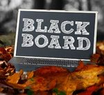 Blackboard graphic