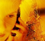 Mobile communications graphic