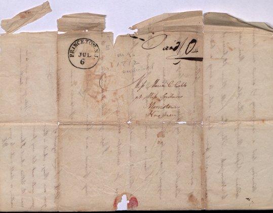 Walter Kirkpatrick letter, envelope