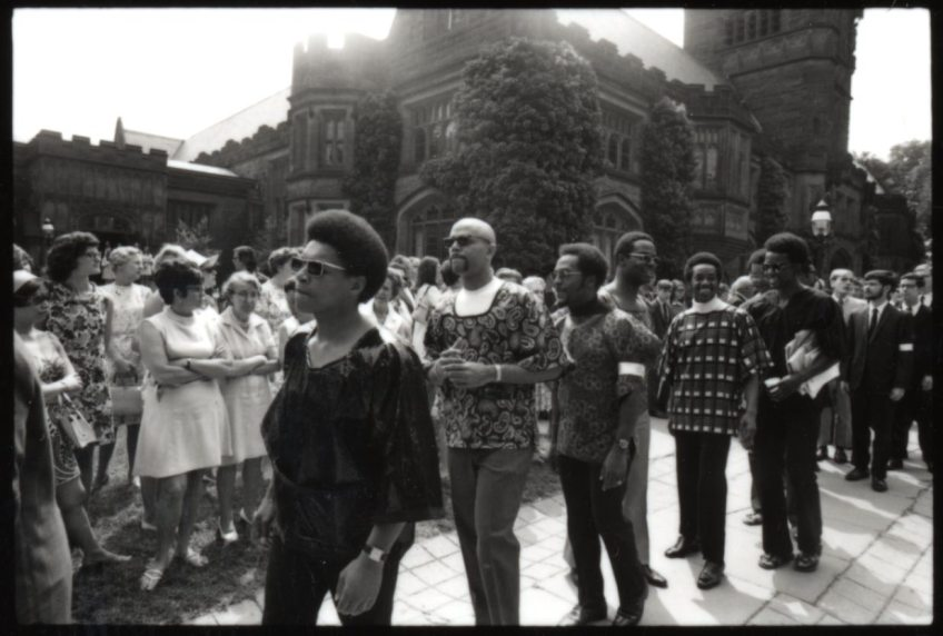African Americans in 1970 Commencement